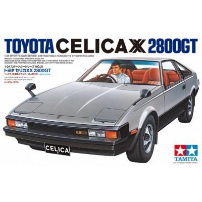 TOYOTA CELICA XX 2800 GT - ESCALA 1/24 -TAMIYA 24021
