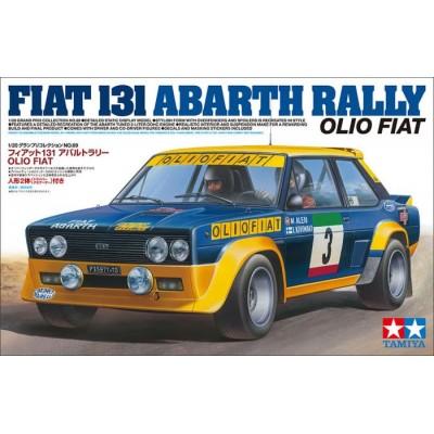 "FIAT 131 ABARTH ""OLIO FIAT"" -Escala 1/20- Tamiya 20069"