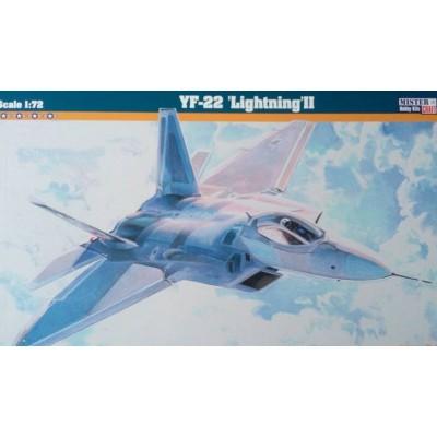 YF-22 LIGHTNING II - ESCALA 1/72 - MISTER CRAFT 060077 F-07
