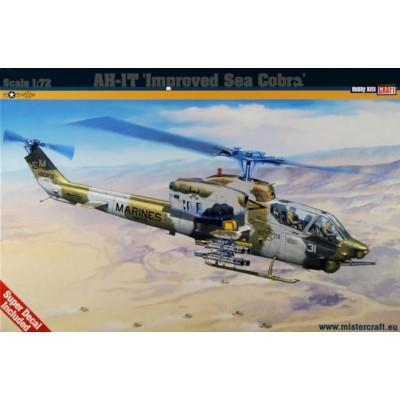 BELL AH-1T IMPROVED SEA COBRA - ESCALA 1/72 - MISTER CRAFT 040628
