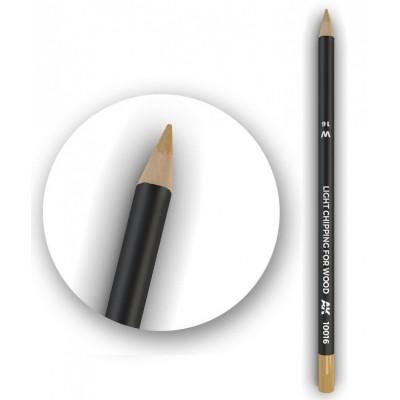 Watercolor pencil: CHIPPING CLARO PARA MADERA - AK Interactive 10016-5