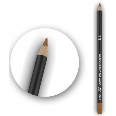 Watercolor pencil: CHIPPING OSCURO PARA MADERA - AK Interactive 10017-5
