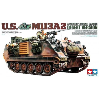 ARMORED PERSONAL CARRIER US M113A2 DESERT VERSION - ESCAL 1/35 - TAMIYA 35265