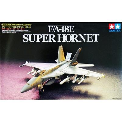 MCDONNELL DOUGLAS F/A-18E SUPER HORNET - ESCALA 1/72 - TAMIYA 60746