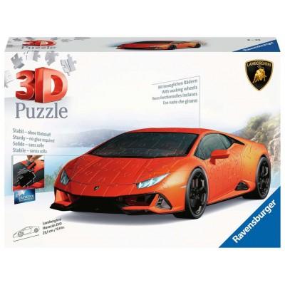 PUZZLE 3D 108 pzas LAMBORGHINI HURACAN EVO - RAVENSBURGER 11238