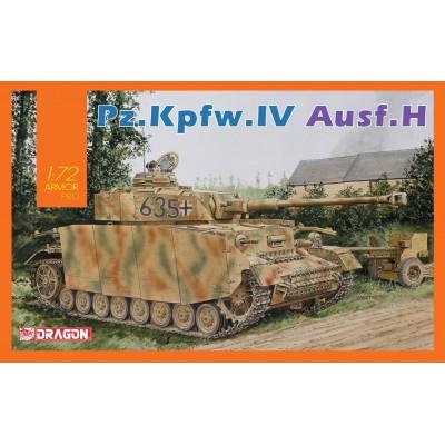 PANZER IV Ausf.H - ESCALA 1/72 - DRAGON 7551