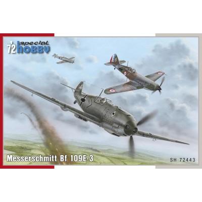 MESSERSCHMITT Bf-109 E-3 -Escala 1/72- Special Hobby SH72443