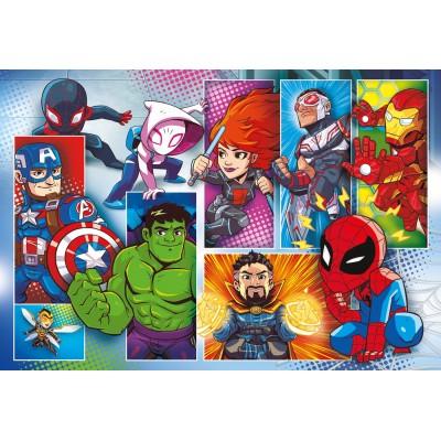 PUZZLE 24 PZS MAXI SUPER HEROES - CLEMENTONI 24208