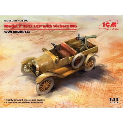FORD T 1917 ANZAC CON AMETRALLADORA VICKERS - ESCALA 1/35 - ICM35607