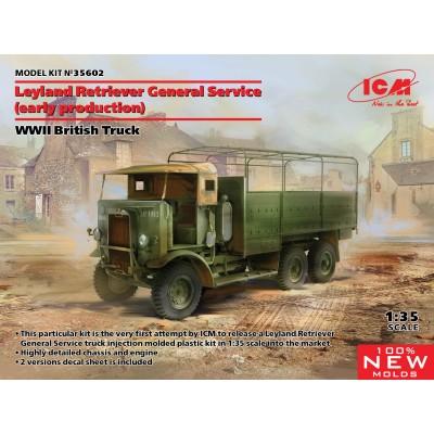 CAMION BRITANICO LEYLAND RETRIEVER GENERAL SERVICE (EARLY) - ESCALA 1/35 - ICM 35602