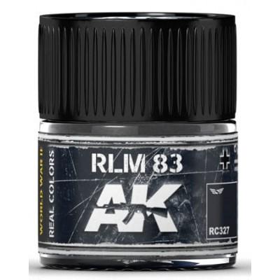 PINTURA REAL COLORS RLM83 (10 ml) - AK RC327