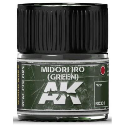 PINTURA REAL COLORS MIDORI IRO - Green (10 ml) - AK RC331