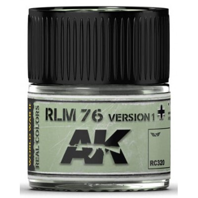 PINTURA REAL COLORS RLM76 - Version 1 (10 ml) - AK RC320