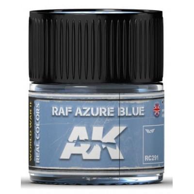 PINTURA REAL COLORS RAF AZURE BLUE (10 ml) - AK Interactive RC291