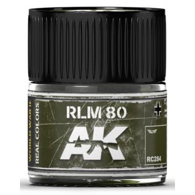 PINTURA REAL COLORS RLM80 (10 ml) - AK Interactive RC284