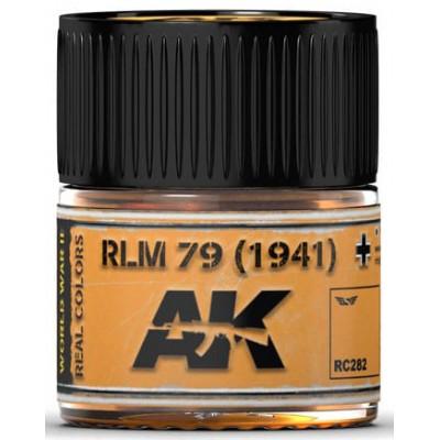PINTURA REAL COLORS RLM79 - 1941 (10 ml) - AK Interactive RC282