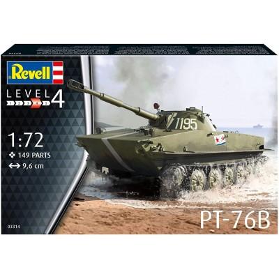 CARRO DE COMBATE PT-76 B -Escala 1/72- Revell 03314