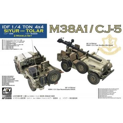 TODO TERRRENO M-38 A1 / CJ-5 Siyur & Tolar -Escala 1/35- AFV Club AF35S99