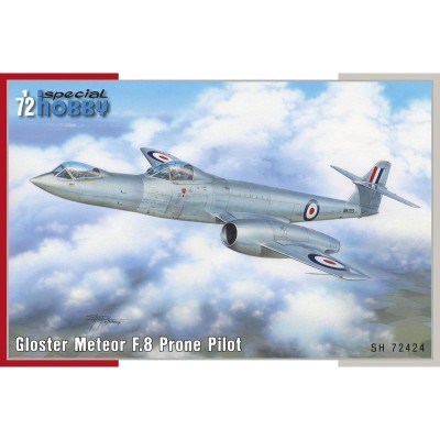 GLOSTER METEOR F.8 Prone Pilot -Escala 1/72- Special Hobby SH72424