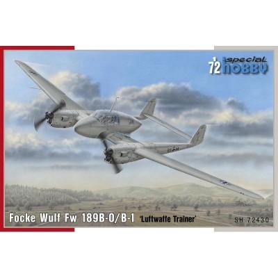 """FOCKE WULF Fw-189 B-0 / B-1 """"Luftwaffe Trainer"""" -Escala 1/72- Special Hobby SH72430"""