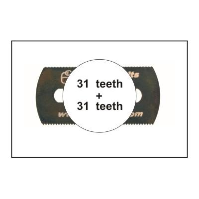 HOJA DE SIERRA SUAVE (31 dientes / 31 dientes) 5 unidades - CMK H1007
