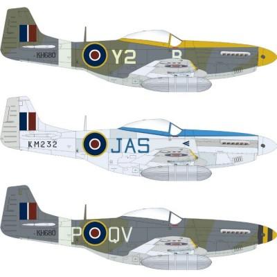 NORTH AMERICAN (P-51 D) Mk-IV MUSTANG -Escala 1/48- Eduard 82104