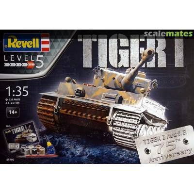 TIGER I - GIFT SET - 75 AÑOS - ESCALA 1/35 - PINTURAS Y PEGAMENTO - REVELL 05790