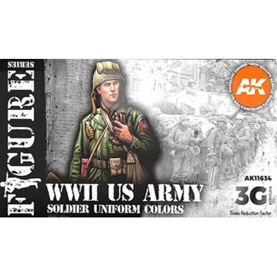 FIGURE Serie: WWII US ARMY - AK Interactive 11634