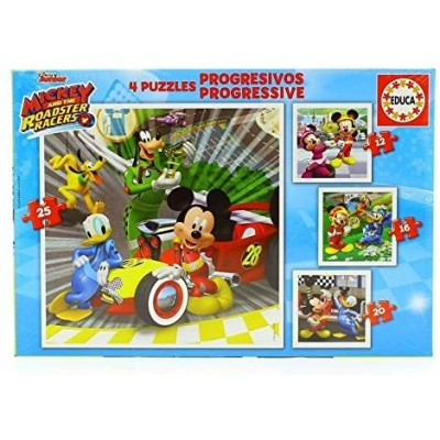 PUZZLE PROGRESIVO MICKEY SUPERPILOTOS - EDUCA 17629