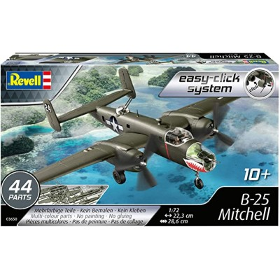 NORTH AMERICAN B-25 MITCHELL EASY CLICK - ESCALA 1/72 - REVELL 03650