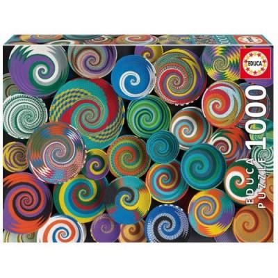 PUZZLE 1000 PZAS CESTAS AFRICANAS - EDUCA 19020