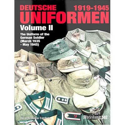 UNIFORMES ALEMANES 1919-1945 Vol. 2 -ABTEILUNG 502 ABT739