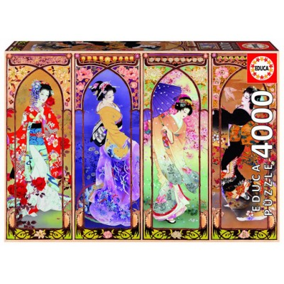 PUZZLE 4000 PZAS JAPANESE COLLAGE - EDUCA 19055