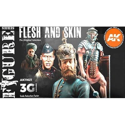 FIGURE Serie: FLESH AND SKIN - AK Interactive 11621
