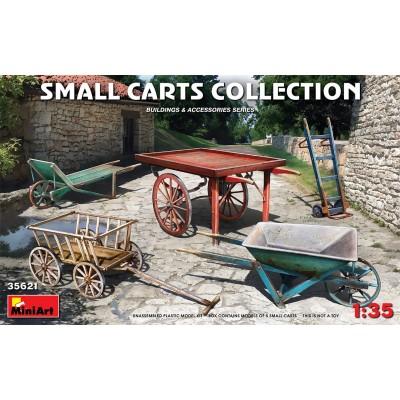 SET CARRETAS & CARRETILLAS -Escala 1/35- MiniArt 35621