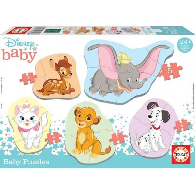 PUZZLE BABY DISNEY ANIMALS - EDUCA 18591