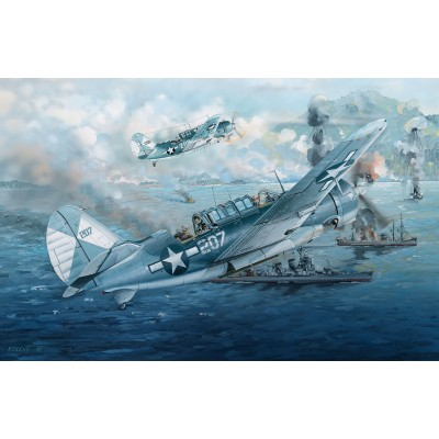 CURTISS SBD2C-4 HELLDIVER -Escala 1/32- Infinity Models INF3201