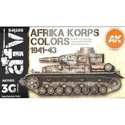 AFV Serie: AFRIKA KORPS COLORS 1941-43 - AK Interactive 11652