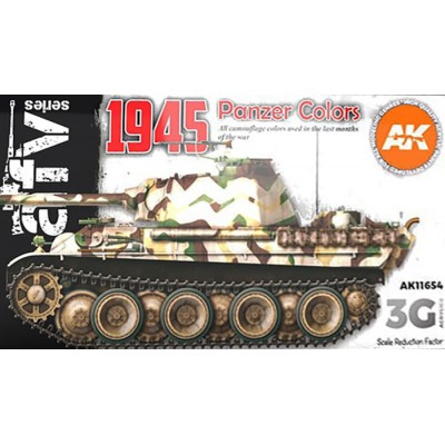 AFV Serie: PANZER COLORS 1945 - AK Interactive 11654