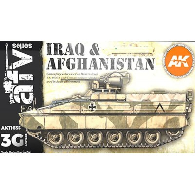 AFV Serie: IRAQ & AFGHANISTAN AFV COLORS - AK Interactive 11655