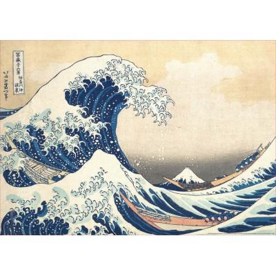 PUZZLE 500 PZAS GRAN OLA KANAGAWA - EDUCA 19002