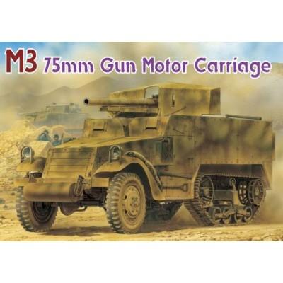 SEMIORUGA M-3 & CAÑON Mod. 1897 (75 mm) -Escala 1/35- Dragon 6467