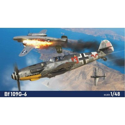 MESSERSCHMITT Bf-109 G-6 -Escala 1/48- Eduard 84173