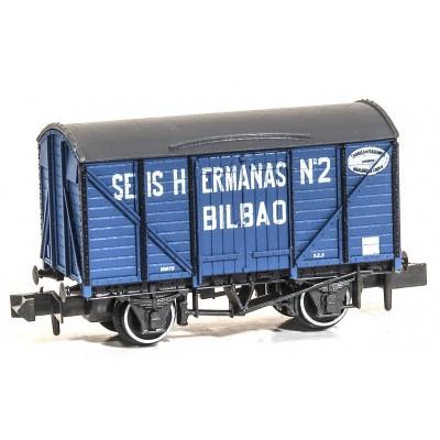 VAGON CERRADO SEIS HERMANAS Nº2 - ESCALA N - PECO NR-P970