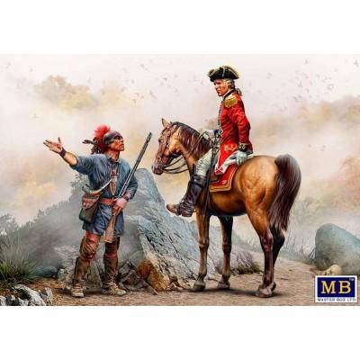 Indian Wars series, XVIII Century Nº3: ENEMY MOVEMENT REPORT -Escala 1/35- Master Box MB35217