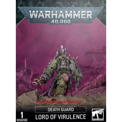 KAOS DEATH GUARD LORD OF VIRULENCE - GAMES WORKSHOP 43-77