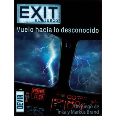 EXIT, EL JUEGO - VUELO HACIA LO DESCONOCIDO - DEVIR EXIT15