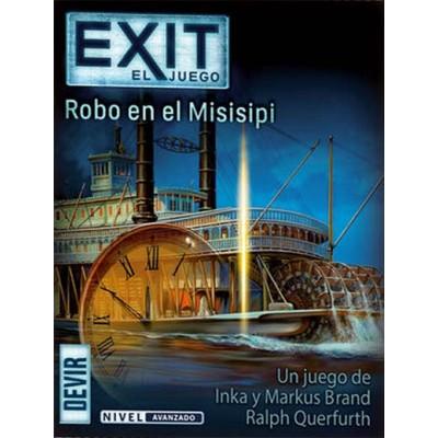 EXIT, EL JUEGO - ROBO EN EL MISISIPI - DEVIR EXIT14