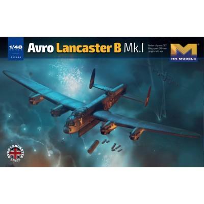 AVRO LANCASTER B.MK-I -Escala 1/48- Hong Kong Model 01F005