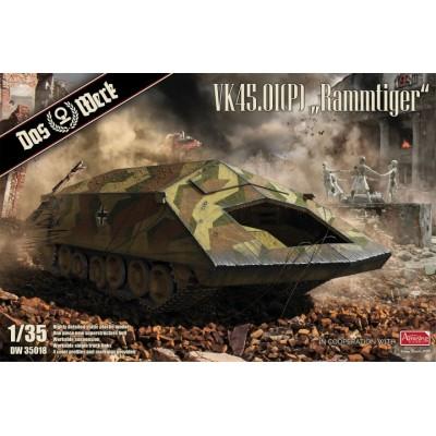CARRO ASALTO VK 45.01 (P) RAMMTIGER -Escala 1/35- Das Werk DW35018